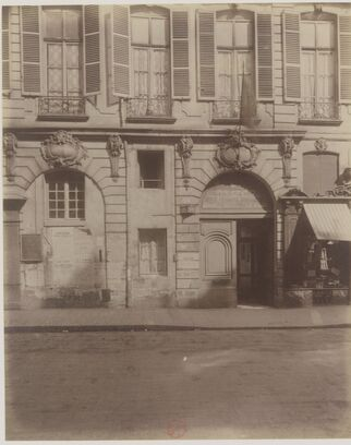 54 rue de Turenne / Atget