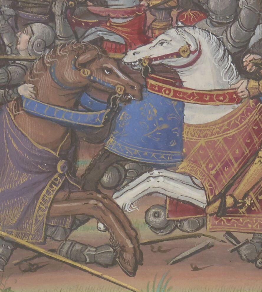 « QUINTE CURSE RUFFE, des Faitz du grant Alexandre », traduction [de VASQUE DE LUCÈNE]. Français 710