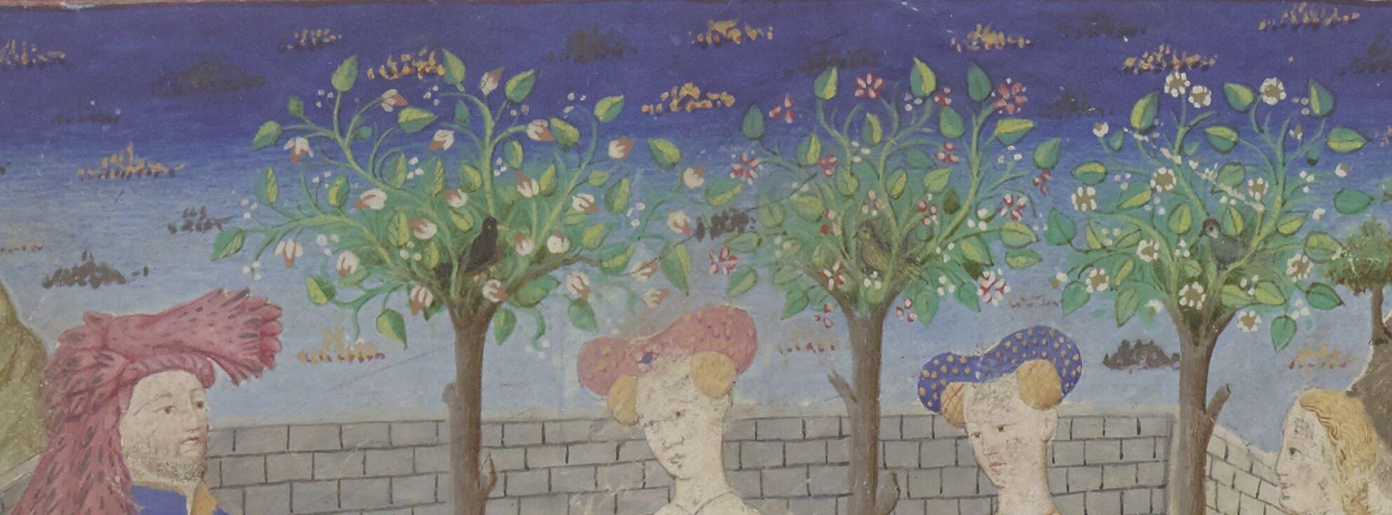 Jardin fleuri du Chevalier de la Tour