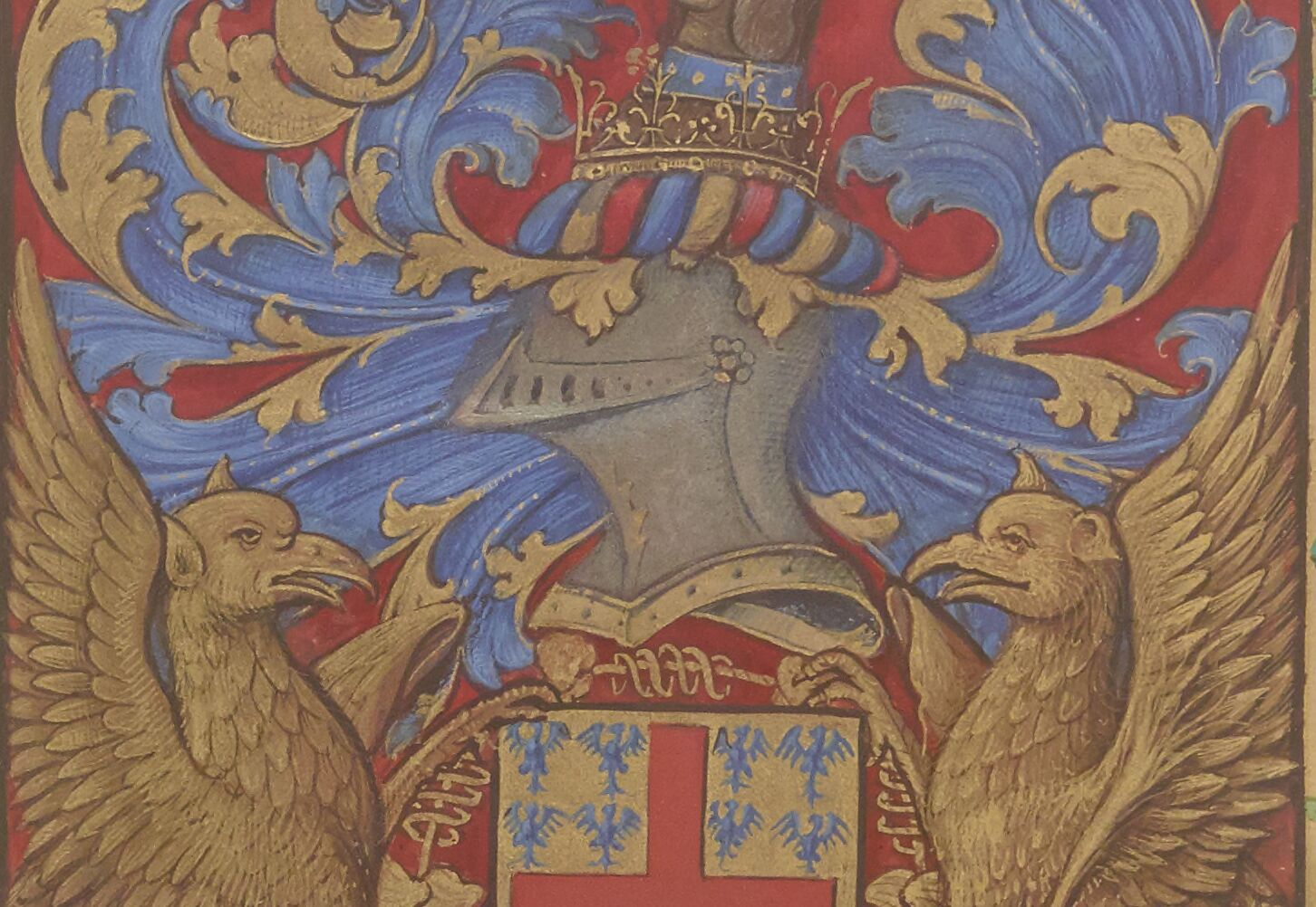 Griffin crest