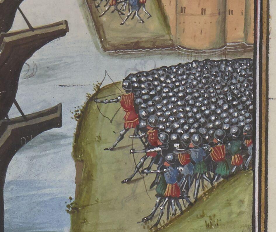 Caesar's miniature army
