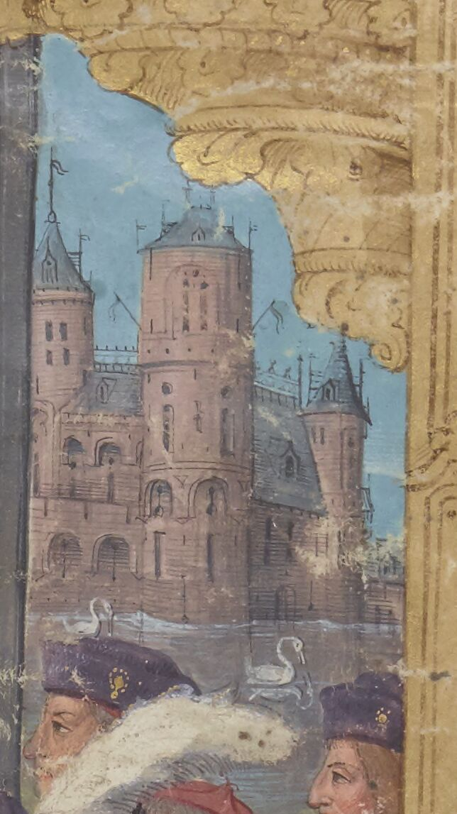 Dream Castle: Swans in the moat