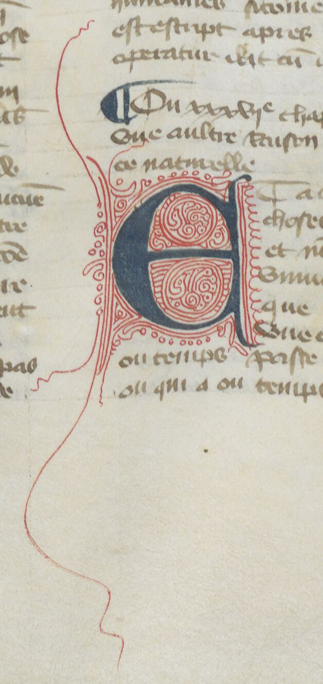 Red filigrane