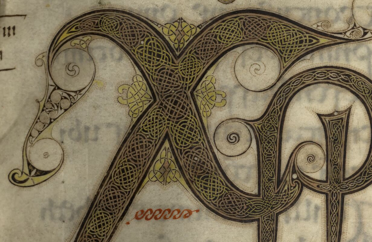 Evangelia quattuor [Evangiles dits d'Echternach ou de Saint Willibrord].