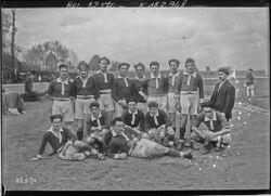 Colombes, 15/4/23, équipe [de rugby de] Valence [opposée au Stade Poitevin] : [photographie de presse] / [Agence Rol]