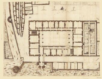 Collège de Tournon-sur-Rhône, France : plan d'ensemble