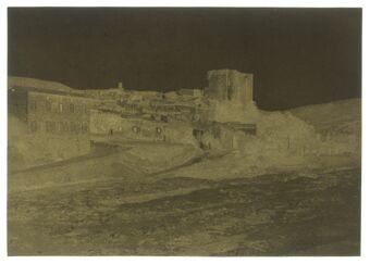 Vue d'Alba-la-Romaine : [photographie négative]