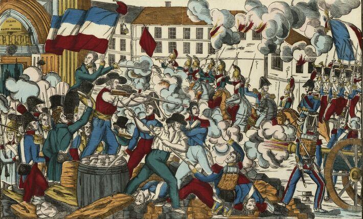 Horrible Massacre A Lyon : [estampe]