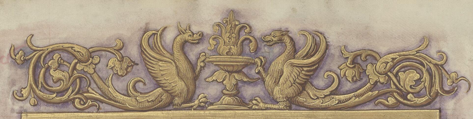Dragon arabesques
