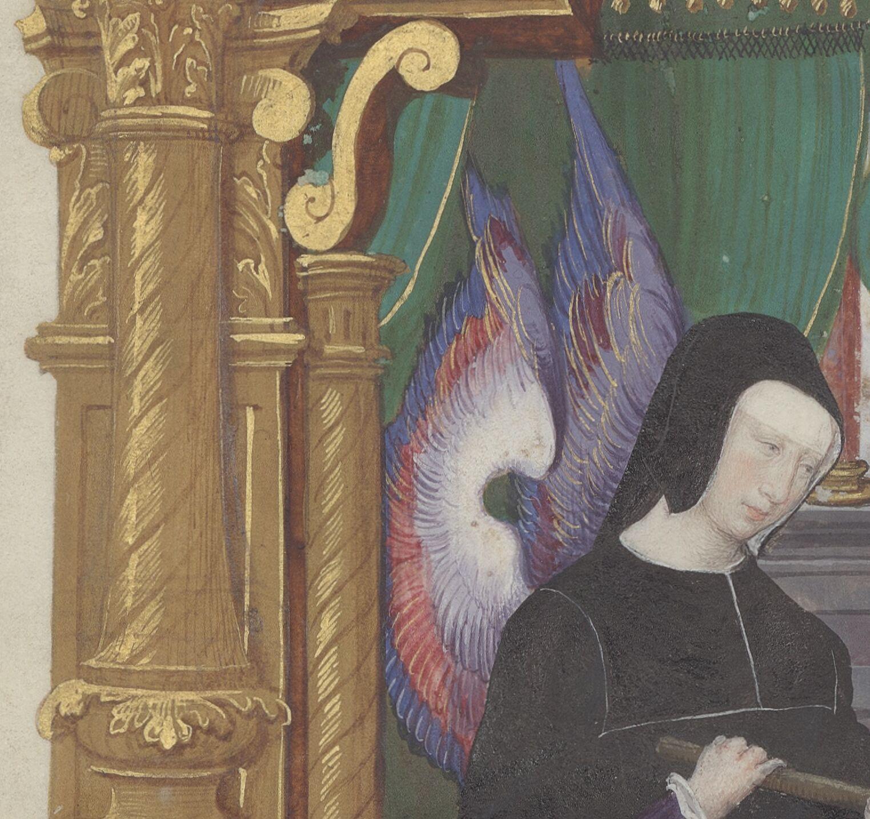 Winged Louise de Savoie