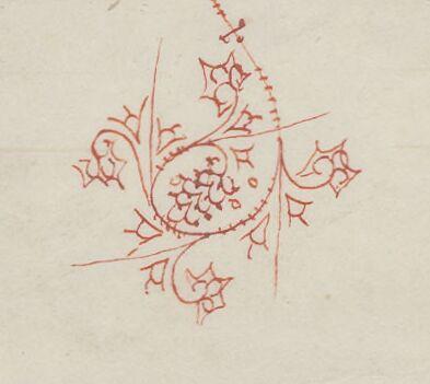 Penwork pinwheel