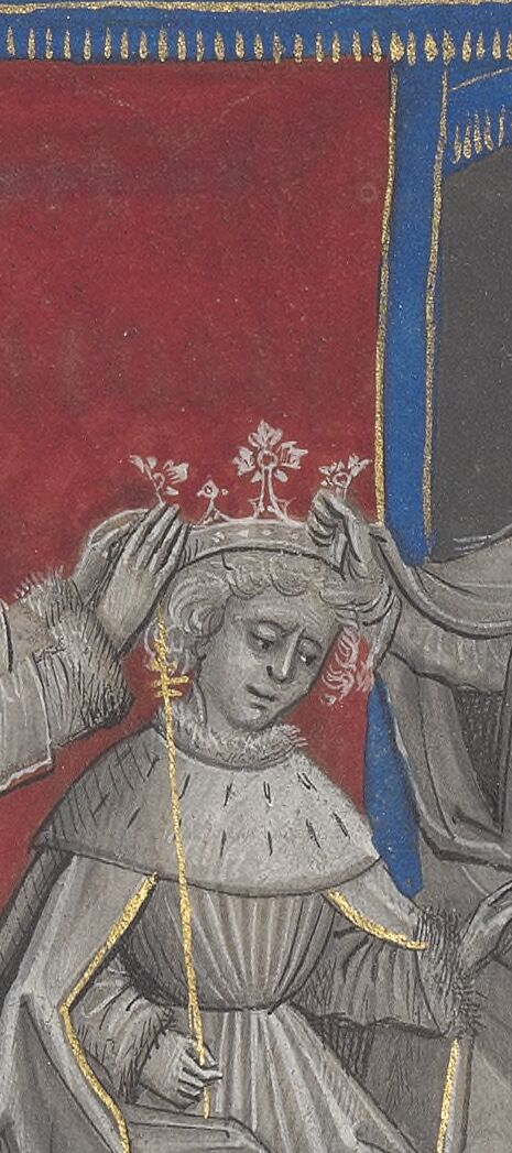 Edward's coronation