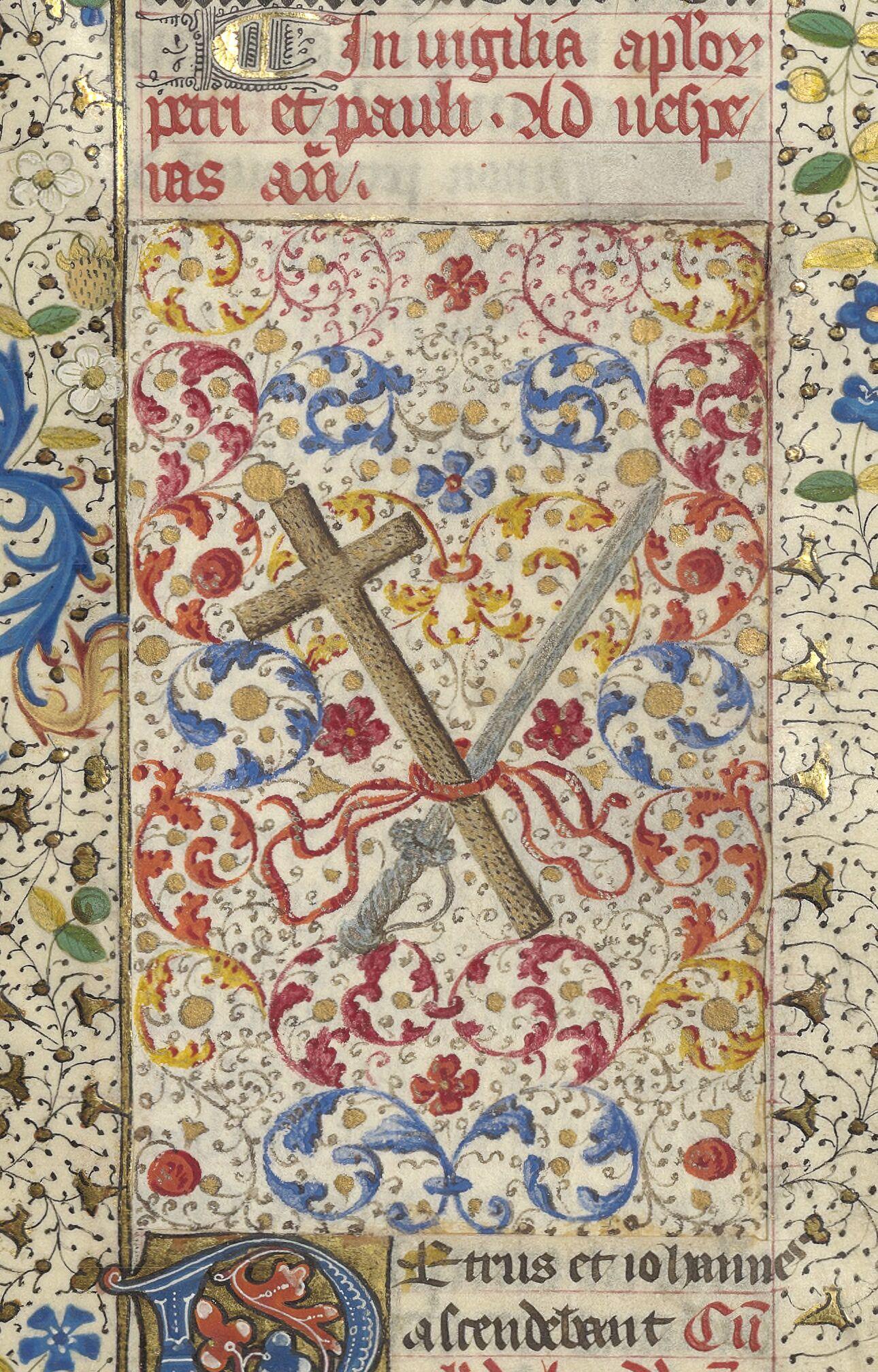 In vigilia apostolorum Petri et Pauli