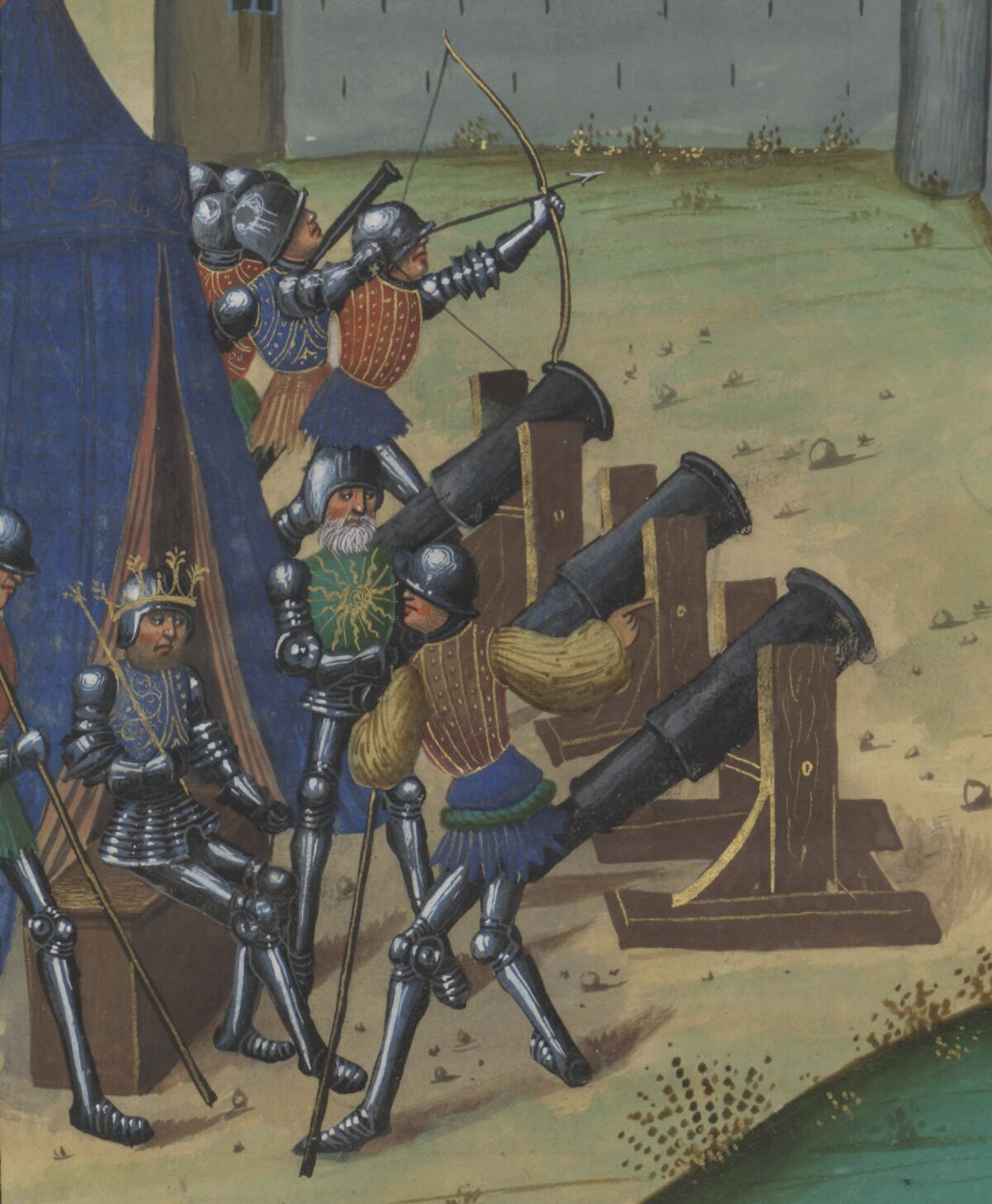 Siege warfare
