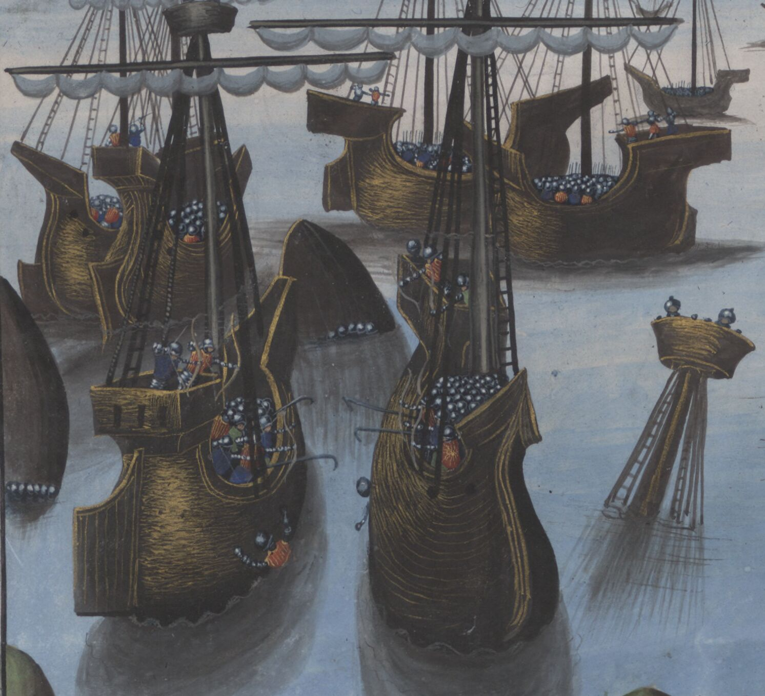 Ship-to-ship warfare