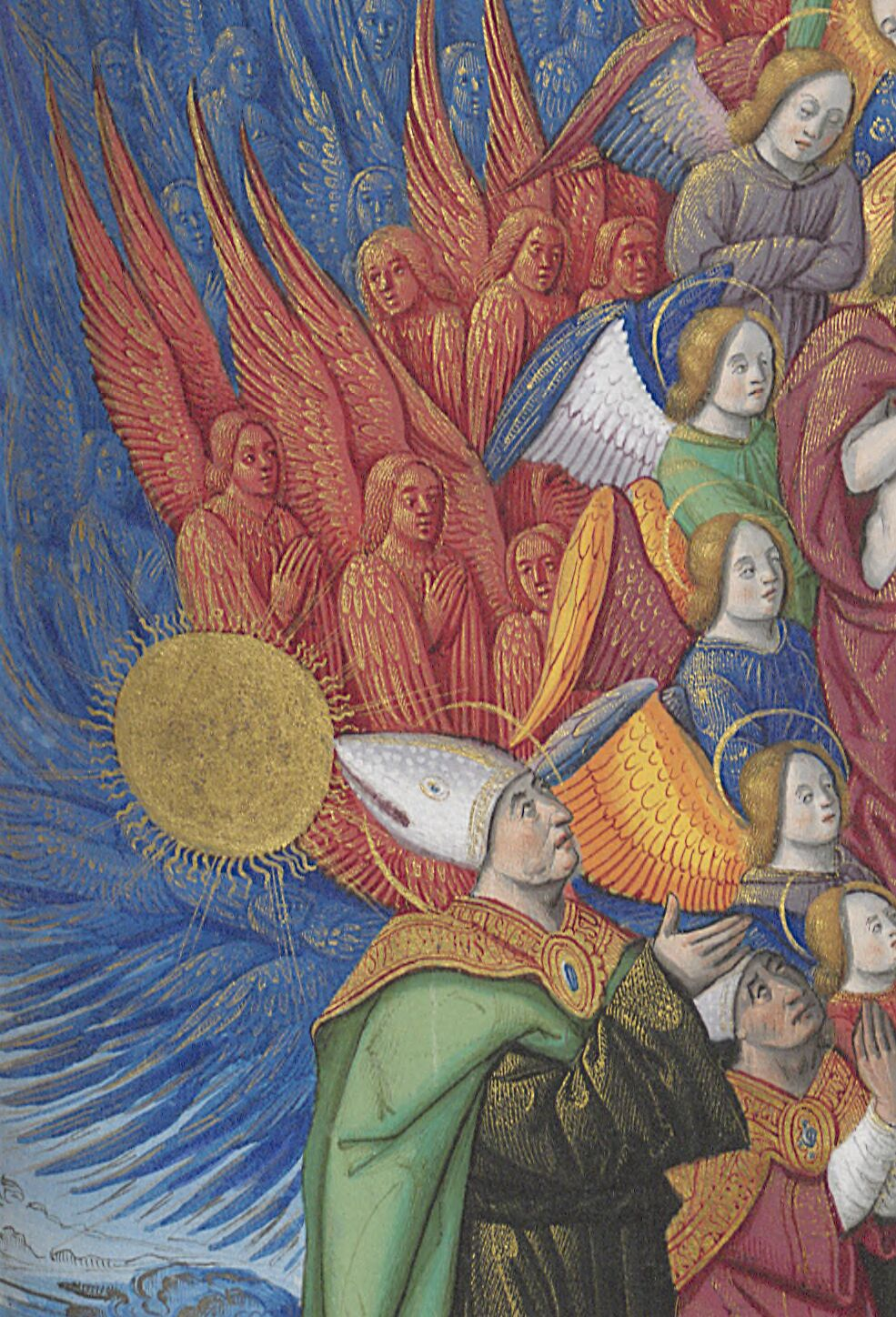 Augustine with orders of angels