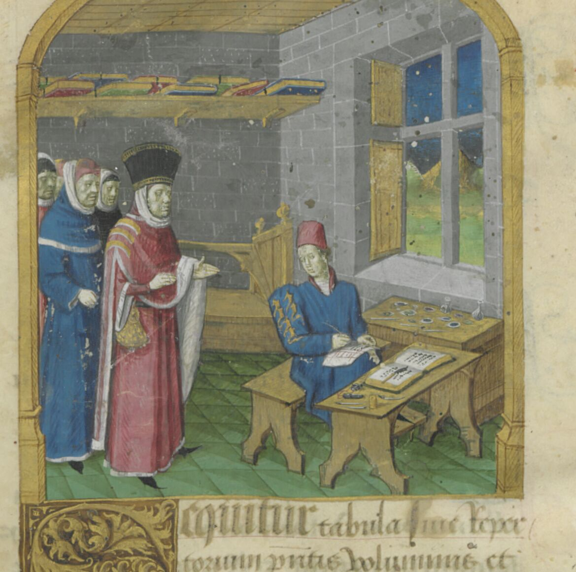 Illuminator shows his colors