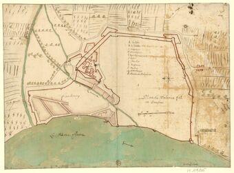 Plan de Valance // en Dauphiné : [dessin] / fB[aulieu] ; De la Pointe