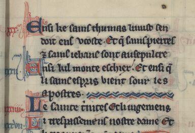 Особенности производства западноевропейской книги в Средние века. Малые элементы декора
