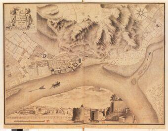 Plan de Tournon, Levé et dessiné par Seruzier Maître de dessin au Corps de l'Artillerie / [Séruzier]