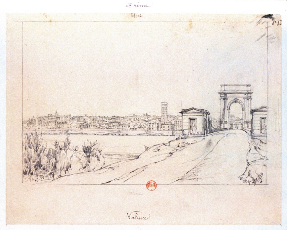 Valence : [dessin] / Chapuy