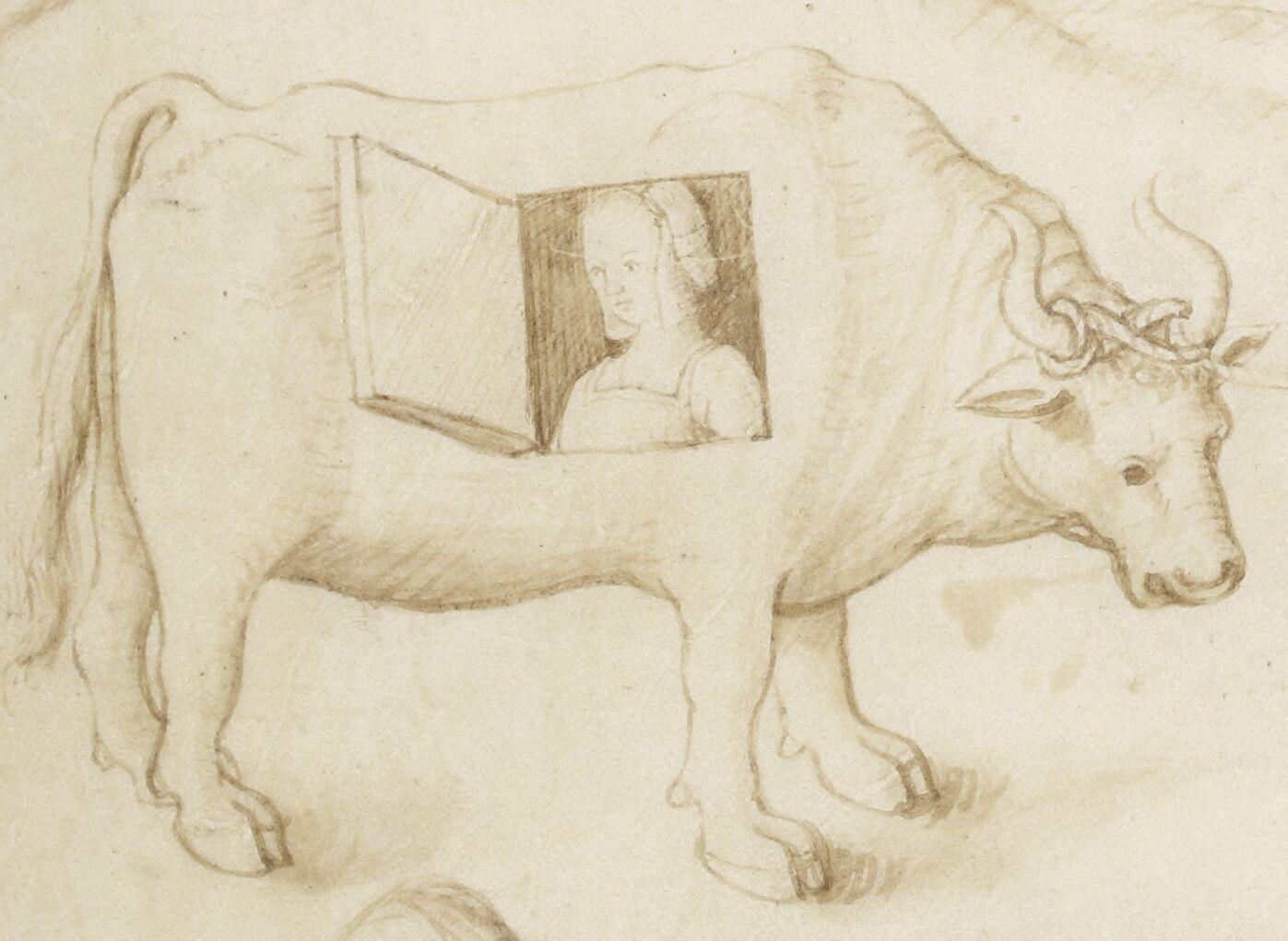 Recueil de dessins ou cartons, avec devises, destinés à servir de modèles pour tapisseries ou pour peintures sur verre.