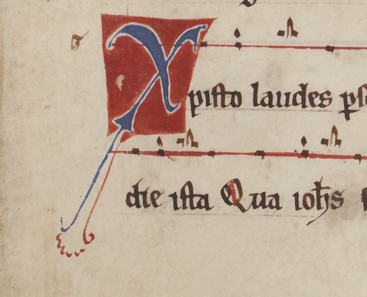 Christo Laudes with cue letter