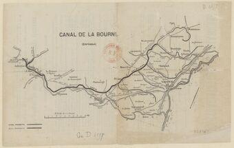 Canal de La Bourne (Drôme)