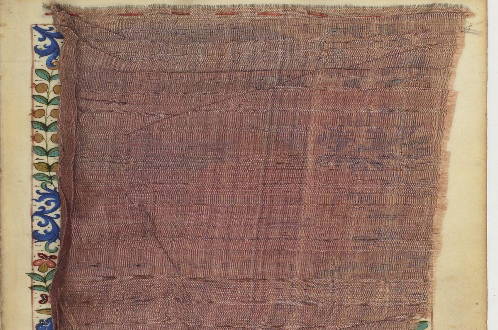 Manuscript Curtain
