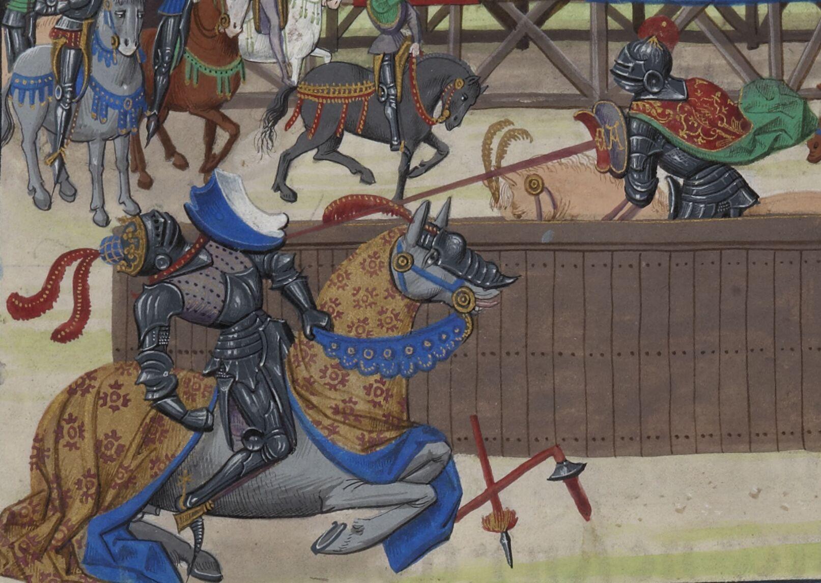 « L'istoire de Olivier de Castille et de Artus d'Algarbe, son treschier amy et loial compaignon ; » traduction française de David AUBERT