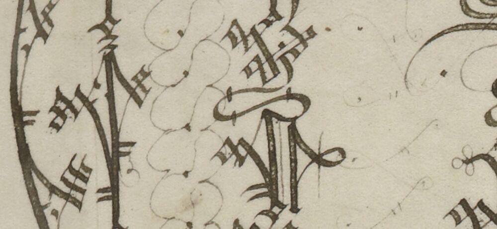 Ornamental letter C