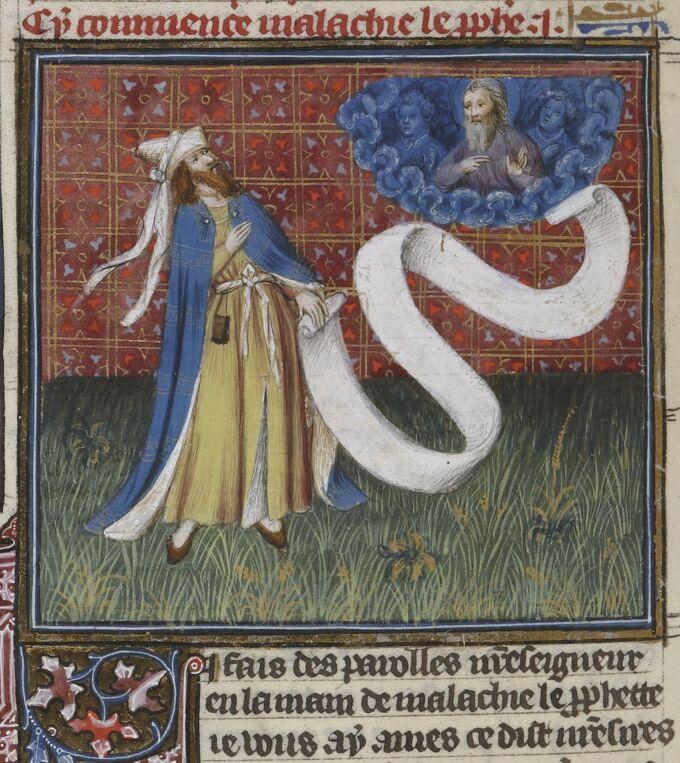 BNF Fr 159, fol. 404v – Malachi