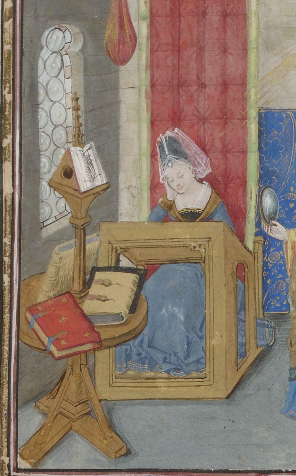 Christine's study