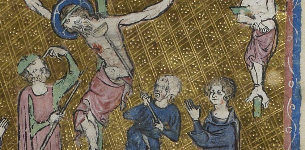 Sgraffito Crucifixion