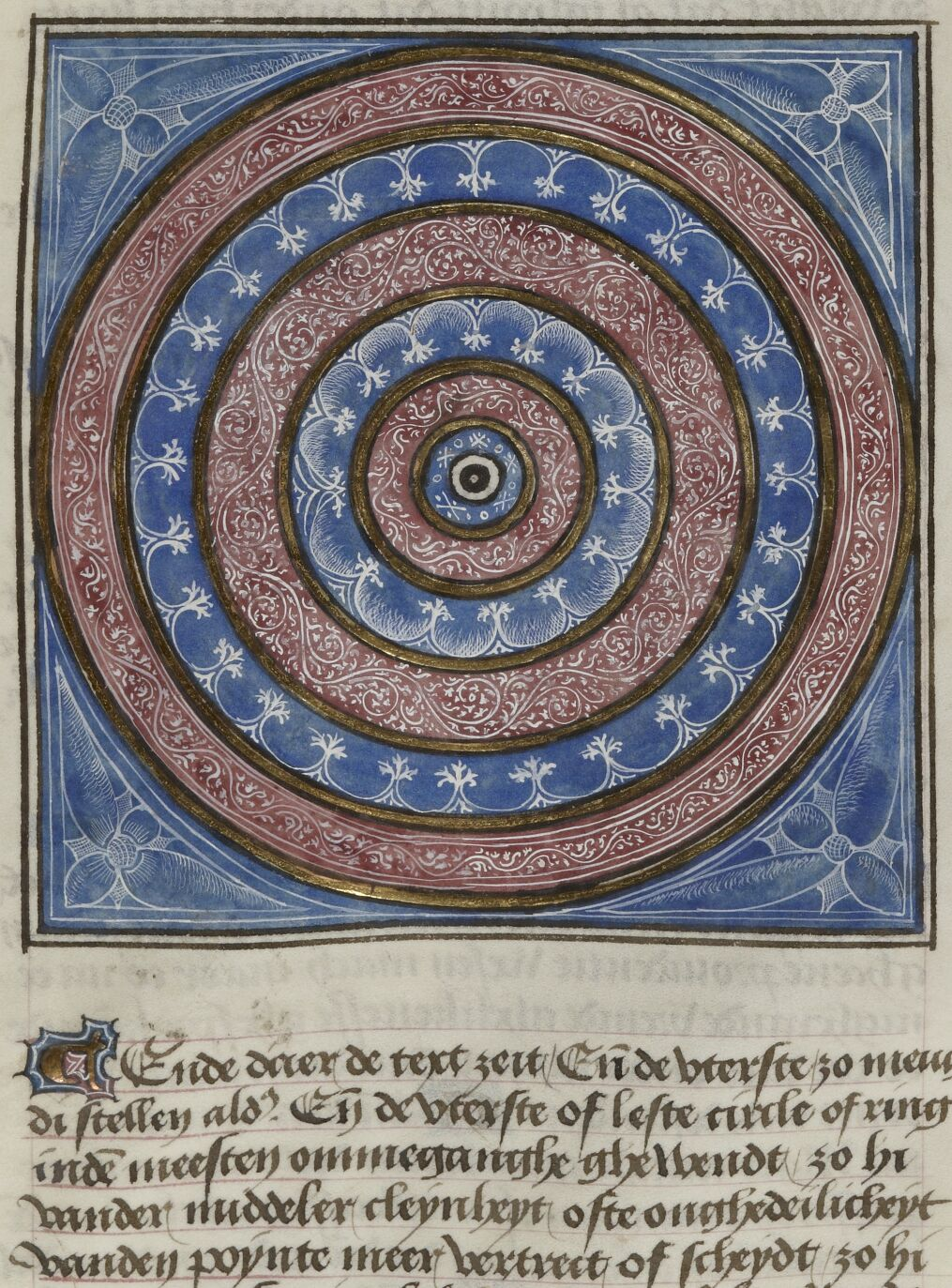 BNF N1, fol. 289v The Cosmos