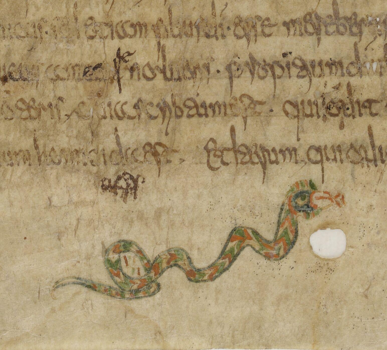 Merovingian snake