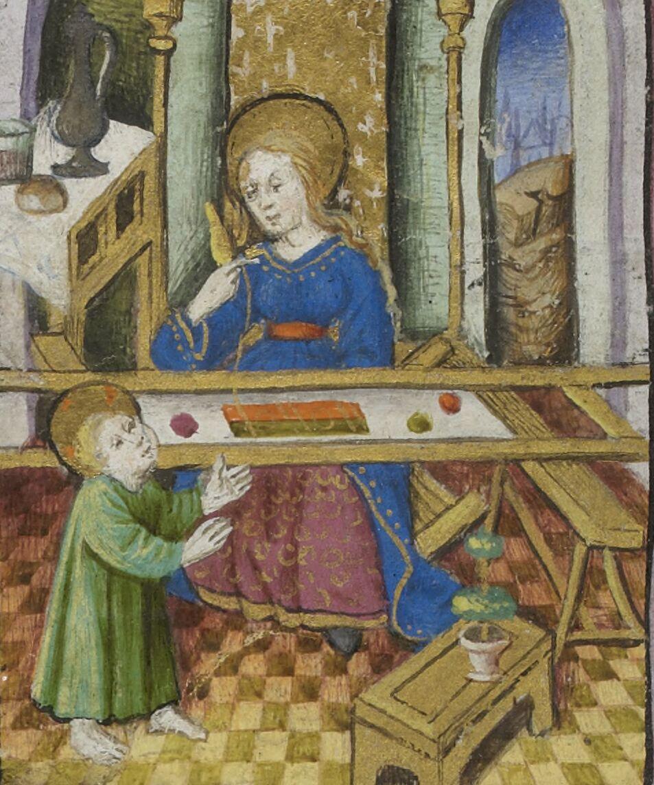 Mary's loom