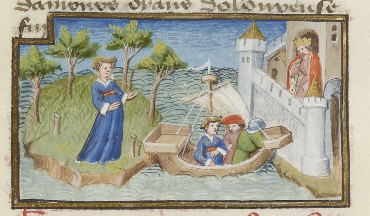 Short boat ride