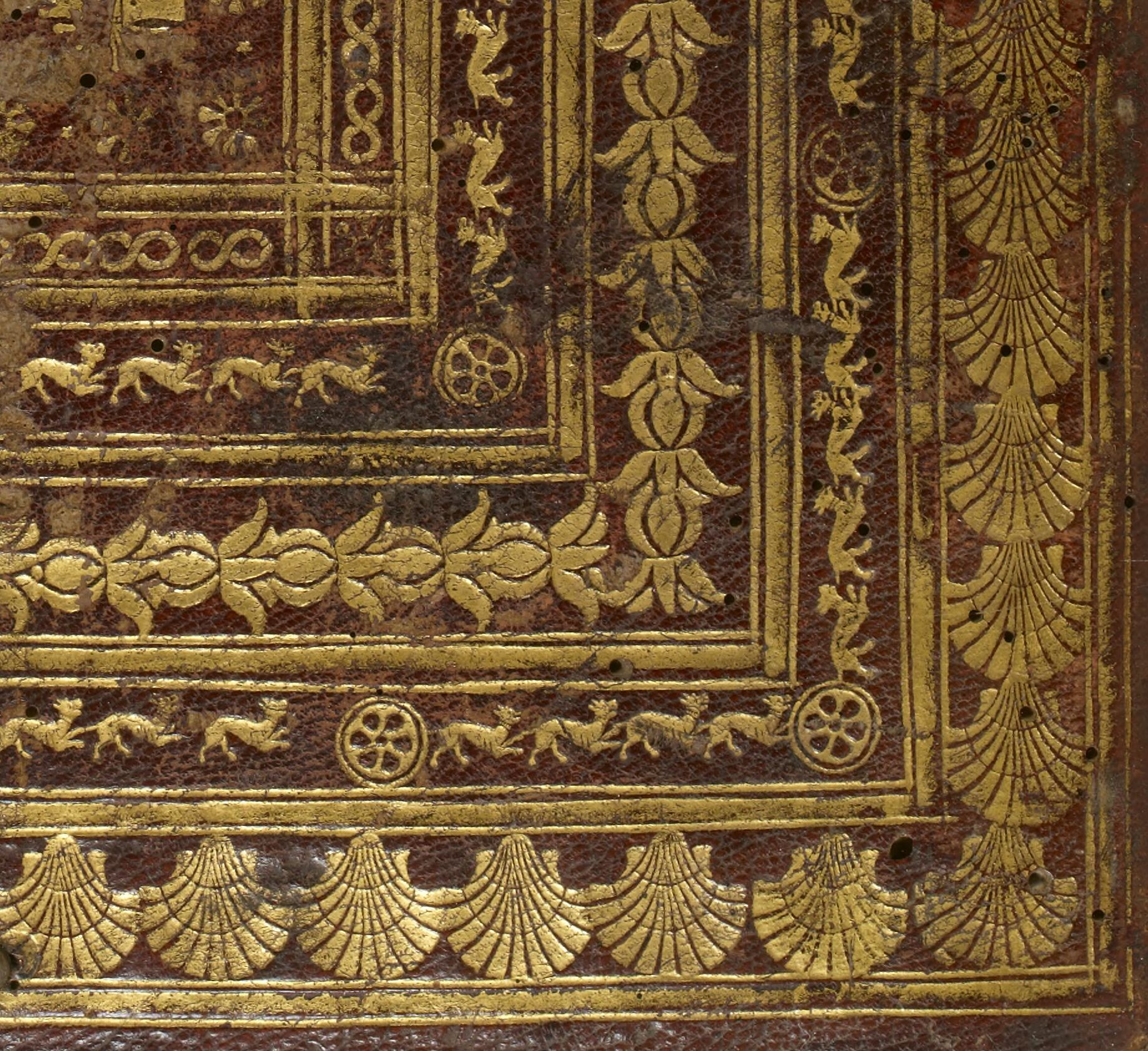 15th-C Tooled Binding