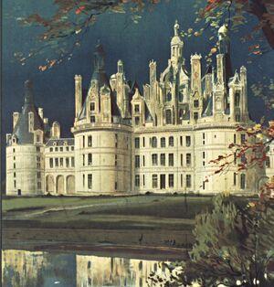 Coloriage Chateau De Chambord.Chateau De Chambord Gallica Vous Conseille