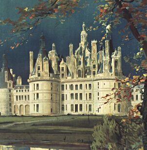 Coloriage Chateau Vaux Le Vicomte.Chateau Gallica Vous Conseille
