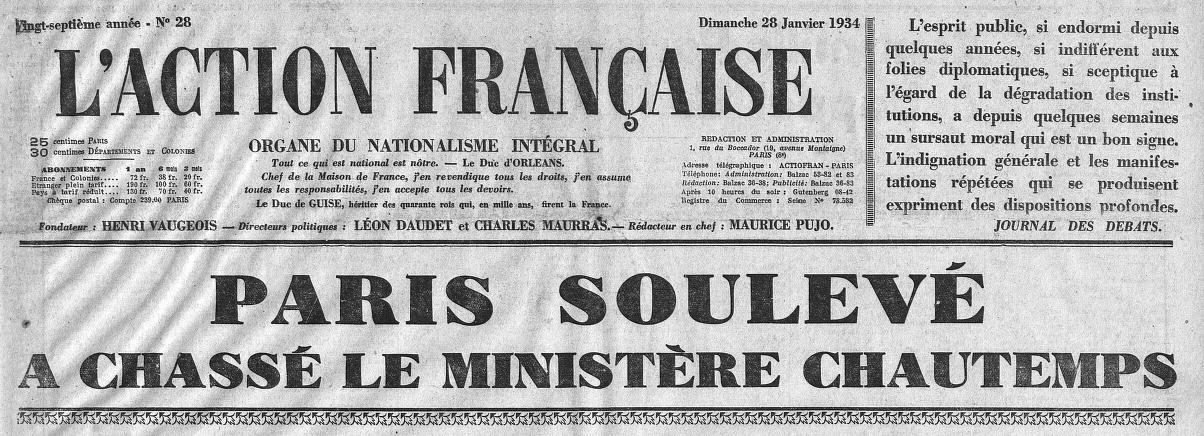 L'Action française (Paris. 1908)