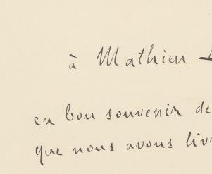 Brouillon de la lettre adressée par Émile Zola au président de la République, Émile Loubet, relative à l'affaire Dreyfus