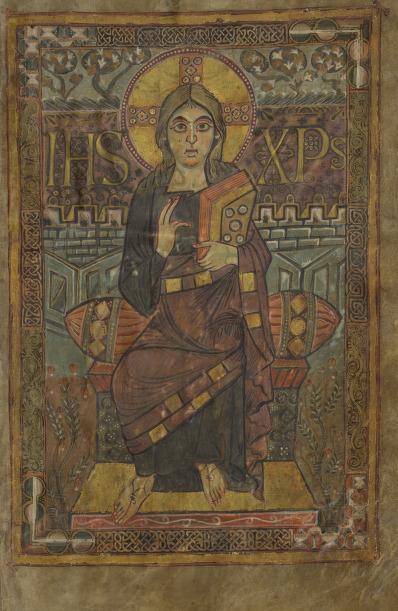 Evangeliarium [Evangéliaire dit de Charlemagne ou de Godescalc]