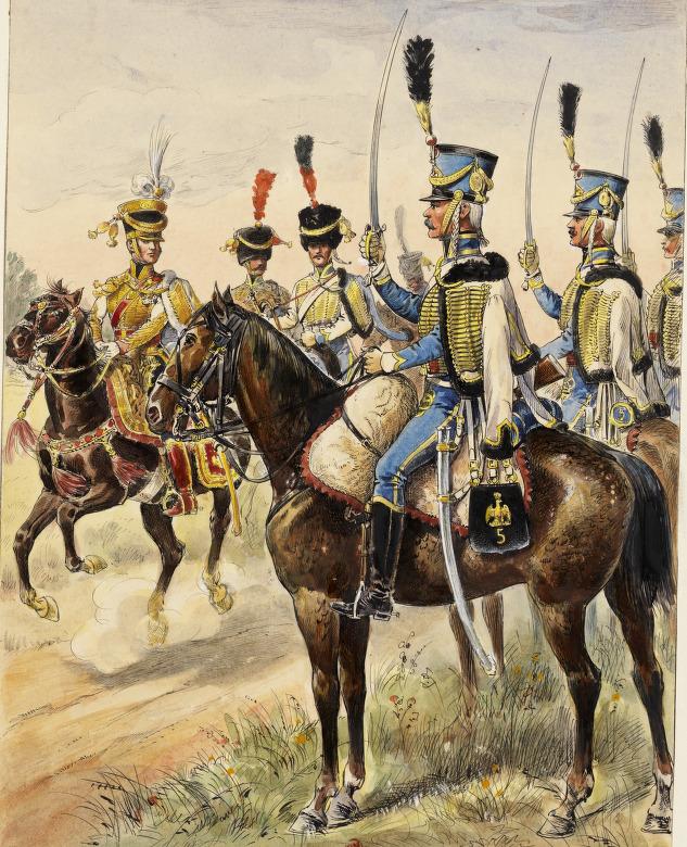 5e Hussards, 1808
