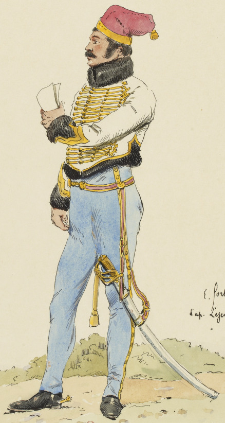 Officier 5e Hussards, 1811