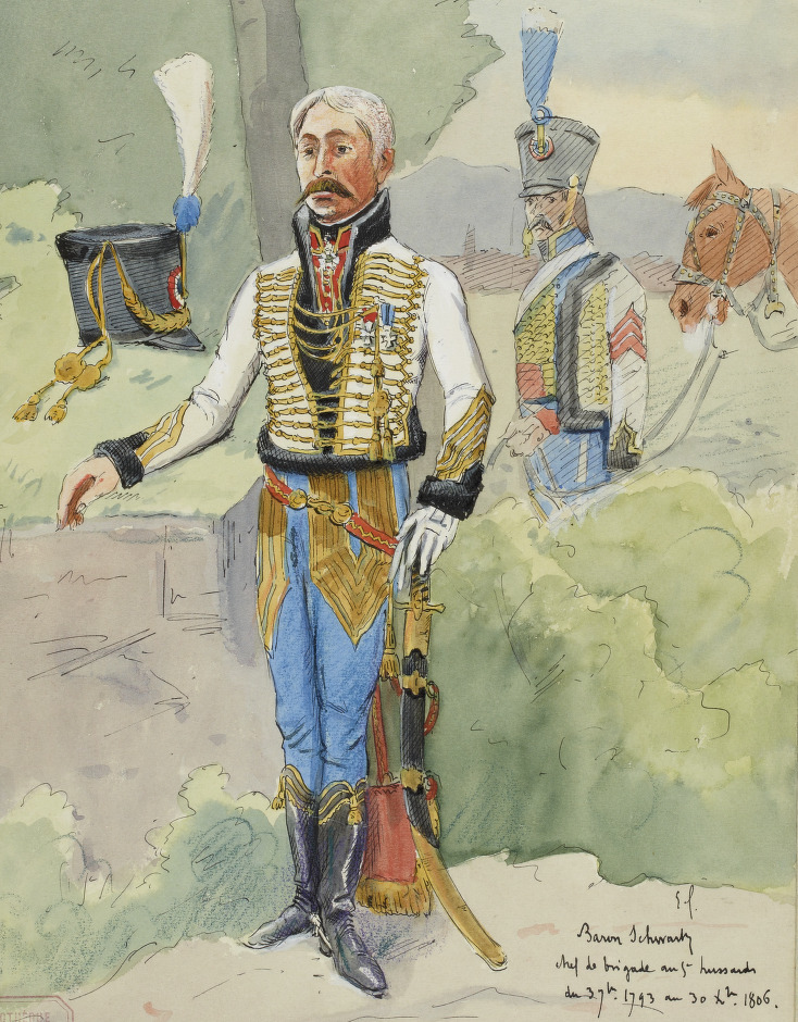 Colonel, 5e Hussards, 1799-1806