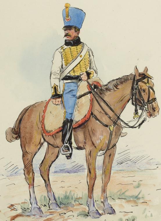 Hussard 5e Hussards, 1809