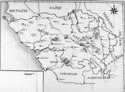 « Mémoire sur le Poitou, » rédigé, vers 1780, pour le comte d'Artois